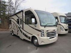 2016 New Thor Motor Coach VEGAS 25.2 Class A in New York NY.Recreational Vehicle, rv, 2016 THOR MOTOR COACH VEGAS25.2, 12V Attic Fan in Bedroom, 12V Attic Fan in Living Area, 15.0 BTU A/C, 32in Exterior TV, 32in TV in Bedroom, Cabinetry-Olympic Cherry, Holding Tanks w/Heat Pads, Interior-Indian Summer, Second Auxiliary Battery, Symphony Red,