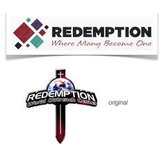 Redemption Church - before and after Logo Design, Symbols, Letters, The Originals, Icons, Fonts, Letter