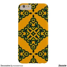 Decorative Barely There iPhone 6 Plus Case #Decorative #Design #Mobile #Phone #Case #Cover #iPhone