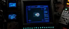 Alien (1979). Orbit Insertion UI. #UI