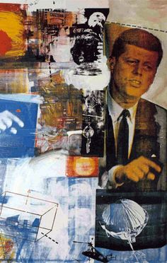 Robert Rauschenberg and Jasper Johns sought to subvert the myth of the artist as visionary creator. In doing so they anticipated the Pop Art movement. Robert Rauschenberg, Jasper Johns, Action Painting, Cultura Pop, Art Conceptual, Neo Dada, Tachisme, Franz Kline, Pop Art Movement
