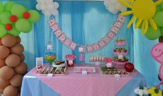 Peppa Pig Birthday Party Ideas | Photo 2 of 41 | Catch My Party