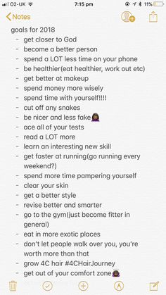 goals for 2018, follow @aderayograce for more✨