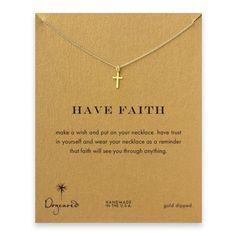 Jewelry New Arrival Shiny Stylish Gift Cross Rack Gold Necklace [4956916100]wanelo.co