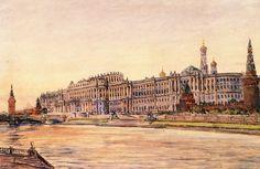 The Grand Kremlin palace (by V. Bazhenov)