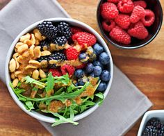 Salad Bowl with Miso Dressing