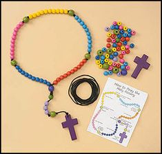 Make-Your-Own Beaded Rosary Craft Kit