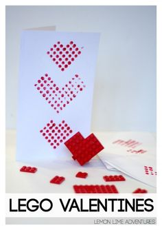 Lego Valentines Day Cards | Perfect for any Lego Lover!