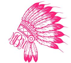 This Indian Chief Monogram is intricate and beautiful! This decal is made with high quality, outdoor vinyl. What to leave in the notes