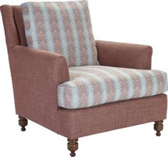 Bobbin Lounge Chair from the Traditions Made Modern® collection by Hickory Chair Furniture Co.