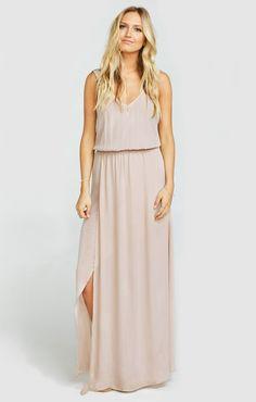 Kendall Maxi Dress ~ Show Me the Ring Crisp
