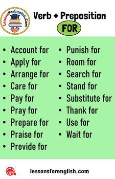 English Vocabulary List, English Writing Skills, English Lessons, Learn English Words, English Study, English Verbs, English Grammar, Learning Time, Grammar Lessons
