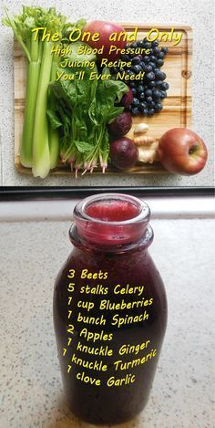 The One and Only High Blood Pressure Juice Recipe You'll Ever Need…