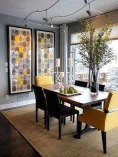 Mesa de Jantar com Cadeiras Diferentes   Decor em ação