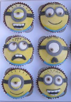 Despicable Me Minions - Despicable Me Minions Double choc Cupcakes