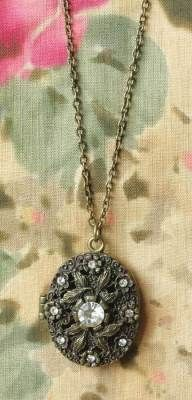 solid fragrance amulet  --inspired project --locket or amulet that holds a sachet or scented linen so as to avoid the need for wearing perfume on one's person.
