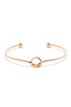 29dfa91e3e2 ... Shiny Rose Gold Bangles  AlexandAni  Bangle. See more. desired knot  bracelet     Bracelets Fins