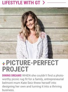 When she couldn't find a photo-worthy picnic rug fit for a family, entrepreneurial Belmont Mum Kate Seiz threw herself into designing her own and turning it into a thriving business. Bulk Up, Workout Days, Strength Training Workouts, Abdominal Exercises, Workout Session, Do Exercise, Burn Belly Fat, Crunches, Make Time