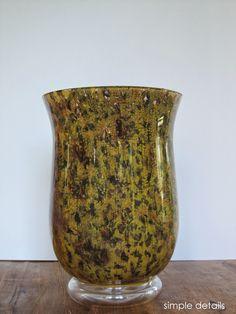 Simple Details: diy tortoise shell vase