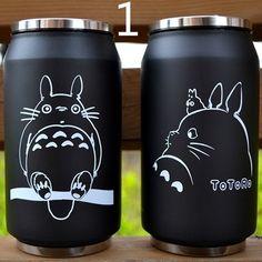 Save Rare Totoro Kawaii My Neighbor Travel Mug Cup Tea Coffee Drink Anime Soot Manga Catbus Hayao Miyazaki Studio Ghibli Birthday Gift - арты аниме Hayao Miyazaki, Anime Body, Manga Anime, Anime Art, Tasse Thermos, Anime Quotes Tumblr, Geek Mode, Anime Pokemon, Vacuum Cup