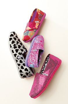 TOMS for Kids #Nordstrom have to get the heart ones .... good thing I can fit kids shoes