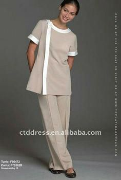 New style cotton Cleaning Uniforms Housekeeping Custom Made by CTD Spa Uniform, Hotel Uniform, Maid Uniform, Uniform Ideas, Staff Uniforms, Medical Uniforms, Work Uniforms, Cleaning Uniform, Beauty Uniforms