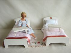 Halls Lifetime Toys started making doll furniture in the 1940s and sized it for the 8 dolls that were so popular during that era. ..