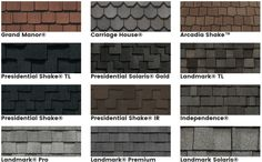 If you're thinking of roof a residence or a few other framework, you NEED to recognize a little about the kinds of roof shingles offered. Read Best Roof Shingles Ideas, The Complete Guide Best Roof Shingles, Asphalt Roof Shingles, Roof Shingle Colors, Roof Colors, House Colors, Roofing Options, Roofing Materials, Certainteed Shingles, Architecture