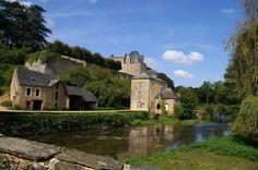 Le #Moulin de Thévalles à Chémeré-le-Roi. Plus d'infos : http://www.moulin-de-thevalles.com
