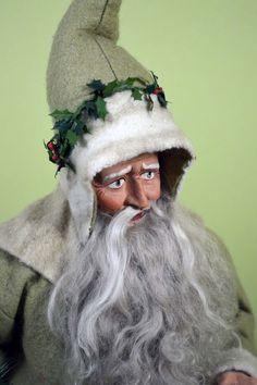 OOAK German-style Santa by Two Sisters Studio - TWO SISTERS STUDIO on DOLL SHOPS UNITED www.dollshopsunited.com
