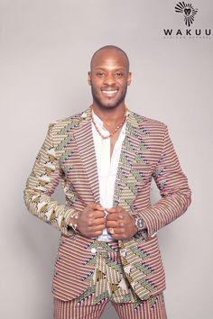 Kitenge Blazer with Shorts, African Blazer, Summer vibes door WAKUUSHOP op Etsy