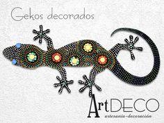 Lagartijas, geckos decorados | Feria Central