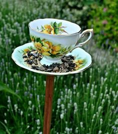 Dishfunctional Designs: My Cup Of Tea - Teacup Crafts & Home Decor