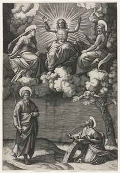 Marcantonio Raimondi (Italian, 1470/82-1527/34), after Raphael (Italian, 1483-1520), engraving, . Dudley P. Allen Fund 1953.353