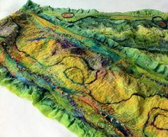 Nuno felting, Felting Supplies list - Photo Gallery - Technicolor Seamonster