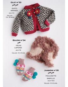 Modèle Jambières CB17-35- Patron tricot gratuit