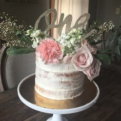 Floral Smash Cake