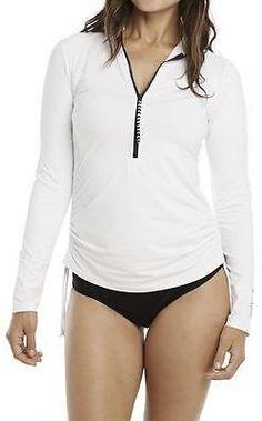 Carve Designs Cruz Rashguard - Women's White/Anchor M