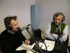 Piero Roullet ( Hotel Bellevue -  Cogne) a destra con Fabrizio Favre durante una puntata di ImpresaVda su Radio Proposta in Blu