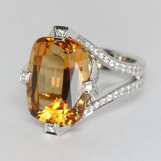 Topaz Ring from Oliver Smith Jeweler.