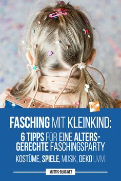 Carnival with toddler: 6 tips for an age-appropriate carnival party - Kinderspiele Low Carb Diet Plan, Healthy Life, Carnival, Keto, Hair Styles, Tips, Beauty, Blog, Halloween