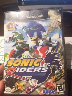 Sonic Riders (Nintendo GameCube, 2006)