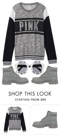 """""""Untitled... 108"""" by thewexknd ❤ liked on Polyvore featuring Victoria's Secret, Timberland and House of Holland"""