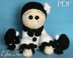 Elfin Thread Chubby snowman Amigurumi PDF Pattern by ElfinThread
