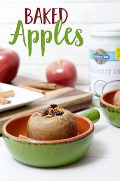 Fall is so close we can almost taste it! Prepare for the upcoming season with this Baked Apples recipe made with our organic coconut oil.