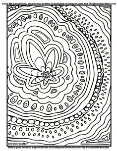 color me cannabis page from chronic crafter - Cannabis Coloring Book