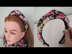 МОДНЫЙ ОБОДОК для волос своими руками. ТРЕНД 2019 . Объемный ободок. / DIY Padded Headbands - YouTube Turban Headbands, Crown Headband, Diy Headband, Diy For Teens, Diy For Kids, Chain Headpiece, Diy Crown, Headband Tutorial, Making Hair Bows
