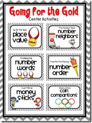 Month-by-Month Math Centers!