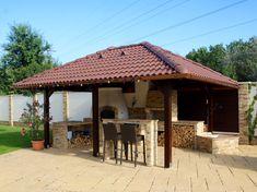 Kemax - Szolnoki kerti konyha Gazebo, Outdoor Structures, Kiosk, Pavilion