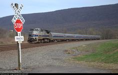 RailPictures.Net Photo: Amtrak 512 Amtrak GE P32BWH (Dash 8-32BWH) at Mexico, Pennsylvania by WILLIAM KLAPP